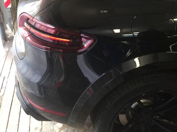 pose écran Porsche Macan