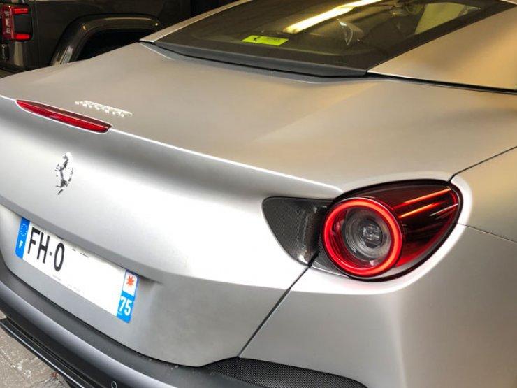 alarme géolocalisation Ferrari