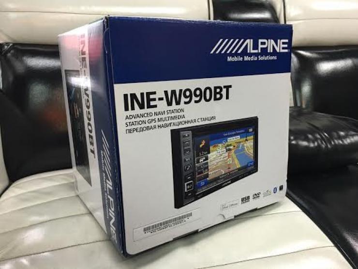 autoradion alpine dvd gps
