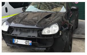 peinture Porsche