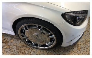 jante chrome mercedes class c coupé
